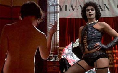 Robert Pattinson as Frankenfurter (this was the creepiest pic of Rob I could find)